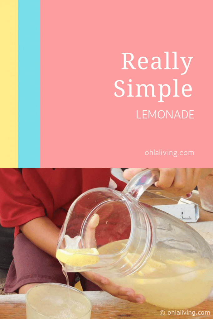 Really Simple Lemonade