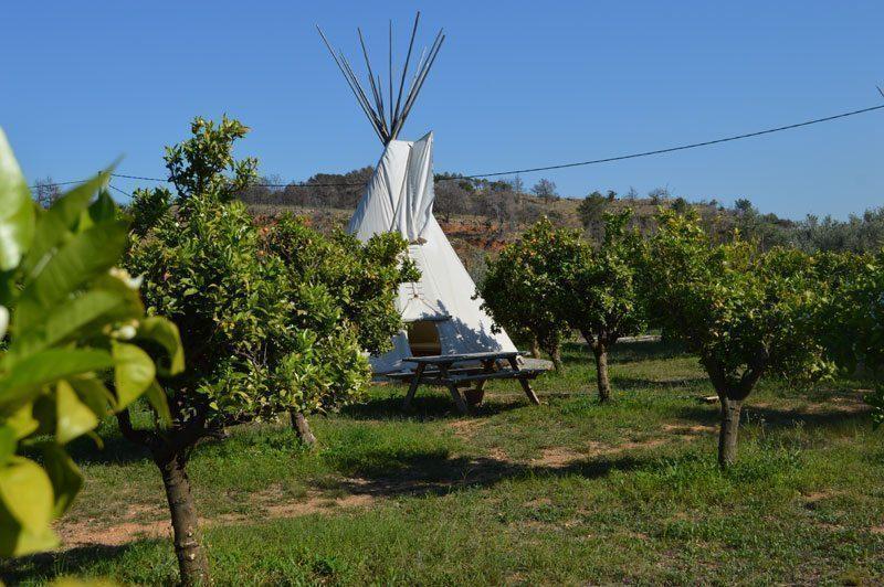 Camping In Valencia