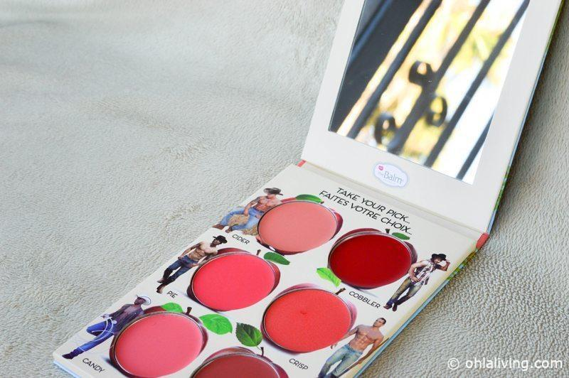 REVIEW: TheBalm Cosmetics Them Apples