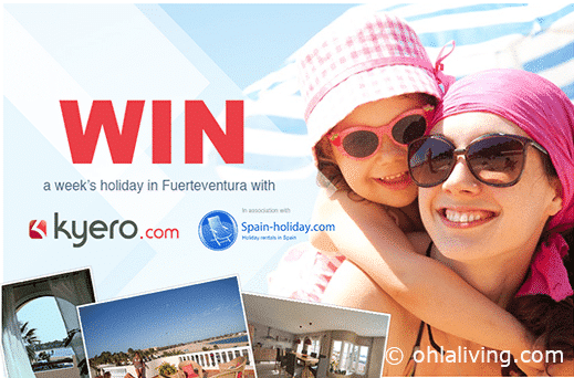 Sponsored: Win a family trip to the Canary Islands with Kyero