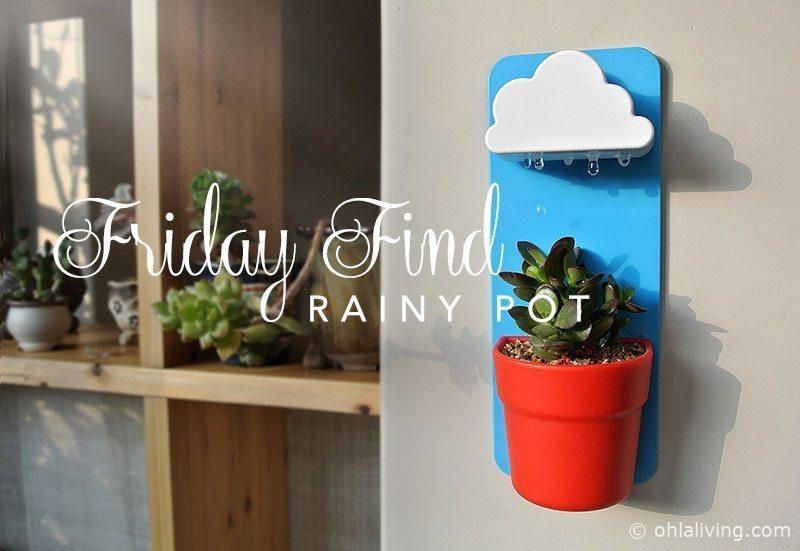 Friday Find: Rainy Pot