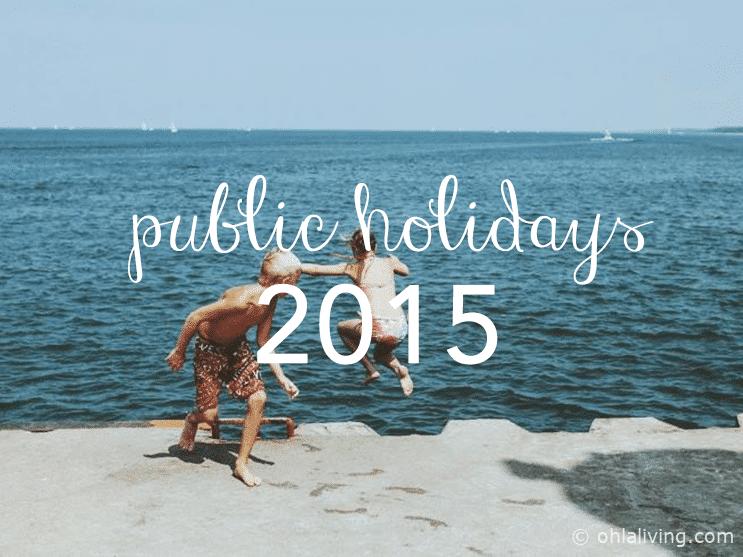 Spanish & Valencian Public Holidays 2015