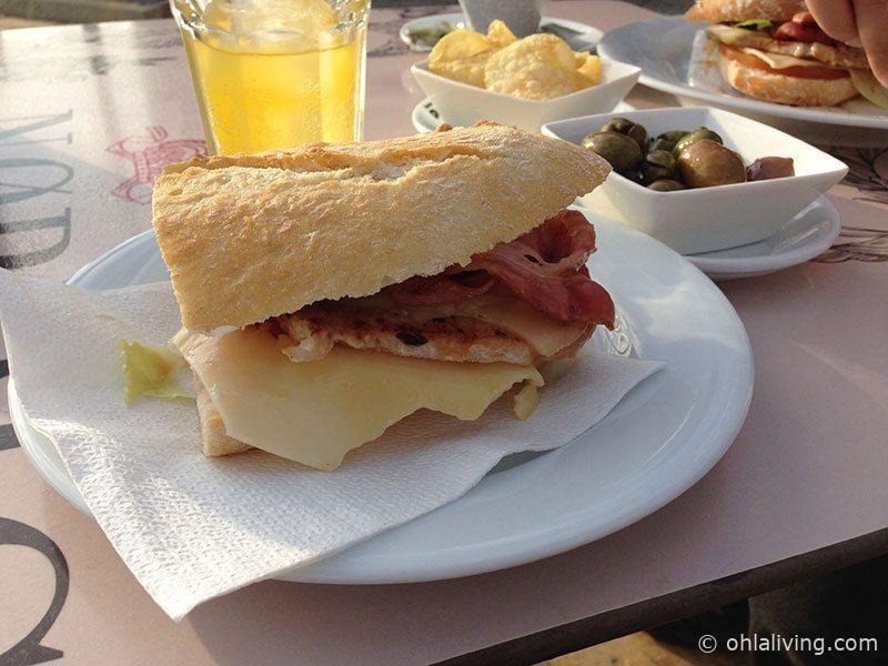 A chivito for breakfast