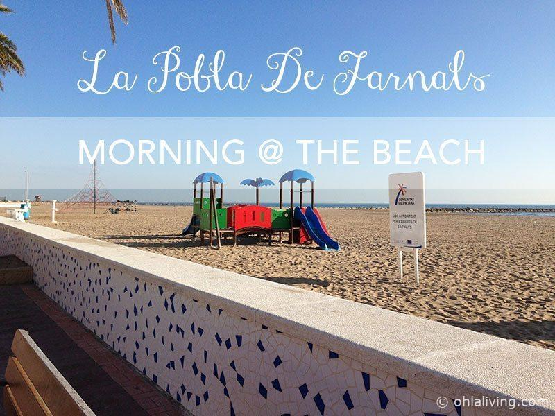 Birthday Morning By The Beach at La Pobla De Farnals