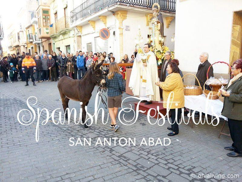 San Anton Abad: Blessing of the animals