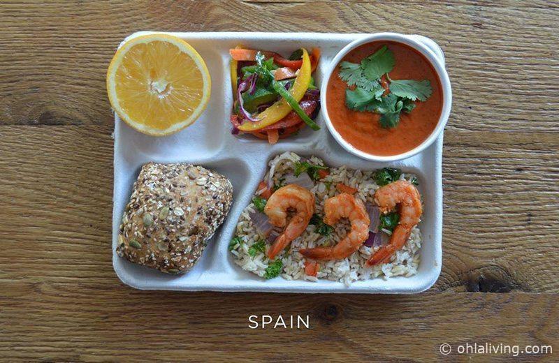 Spanish school dinner