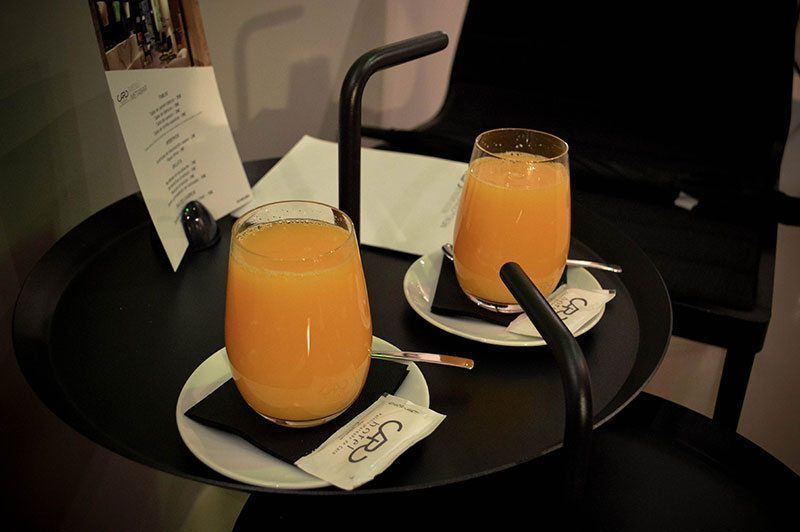 Fresh orange juice from Valencia