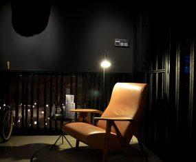 Seating area in the Meta Bar