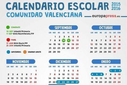 Valencian School Calendar