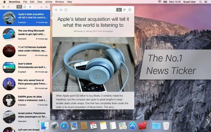 Newsflow RSS Reader
