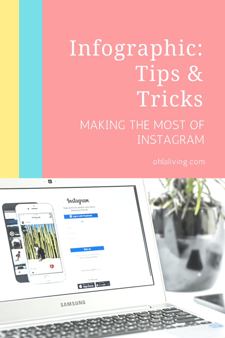 Infographic Tips and Tricks How To Make The Most Of Instagram