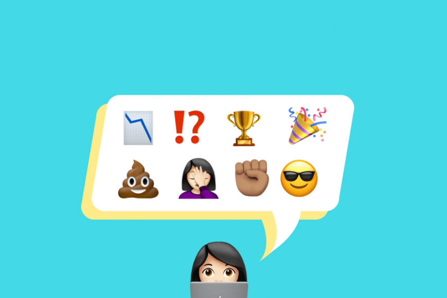 Blogging Highs And Lows Described By Emojis