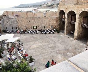 Plaza De Santa Maria Peñiscola