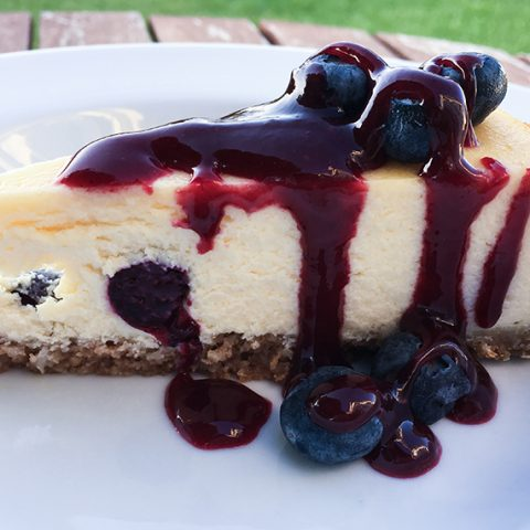 Blueberry New York Cheesecake With Summer Fruits