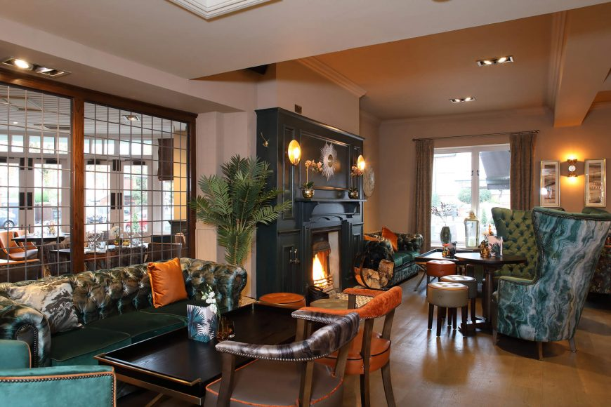 Festive Family Dining At The Green House Pub, Sutton