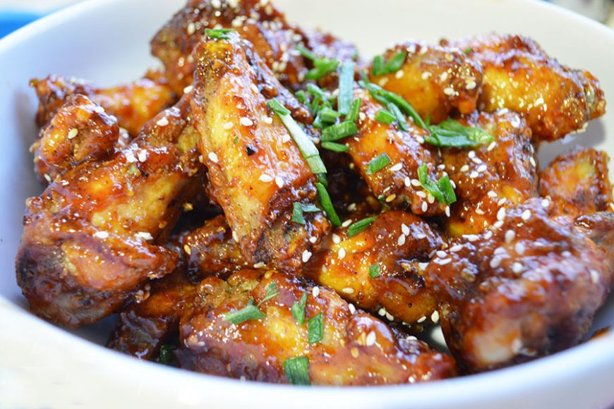 Recipe: Korean Style Crunchy, Sweet And Spicy Chicken Wings