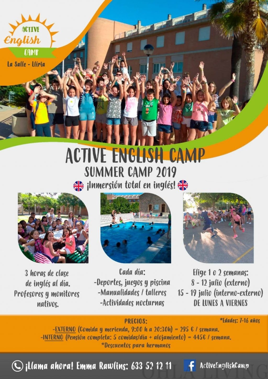 Active English Summer Camp Valencia