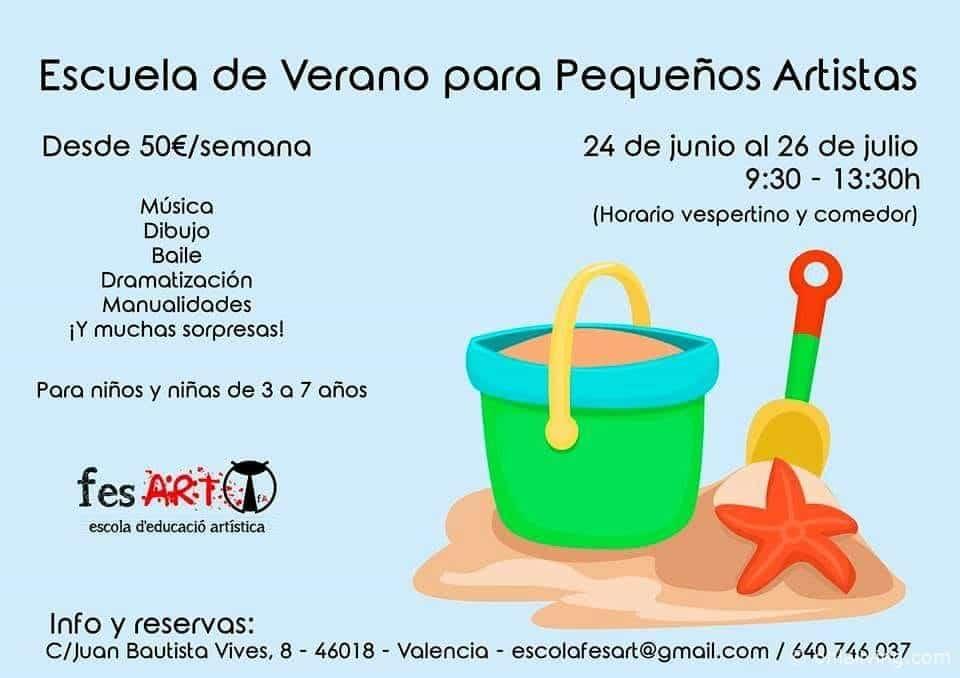 Fes Art Summer School In Valencia