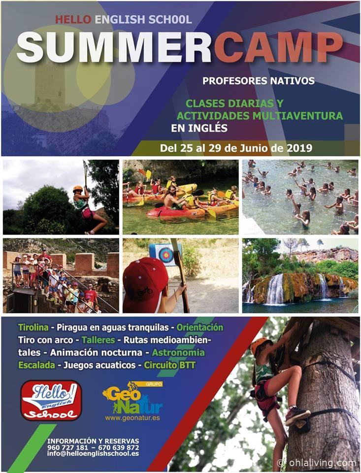 Hello English Summer Camp Valencia