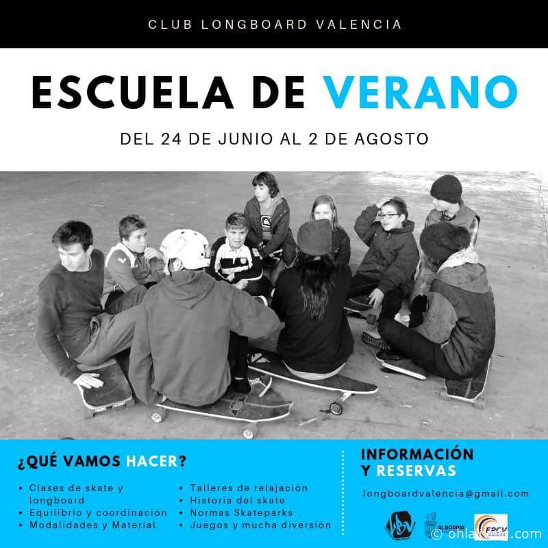 Long Board Valencia Summer School