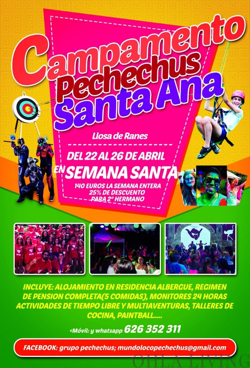 Campamento Pechechus Summer School Valencia