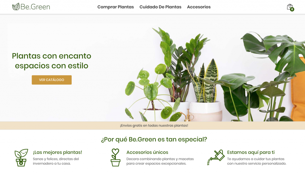 Be Green Website