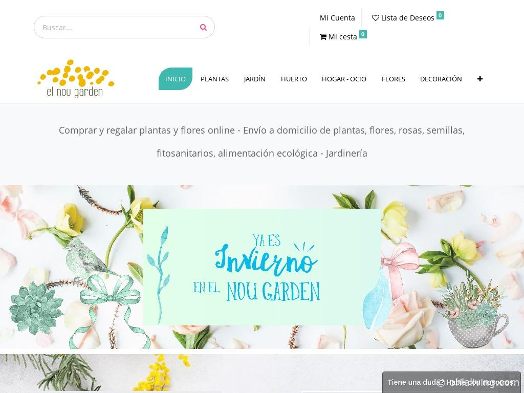 El Nou Garden Website