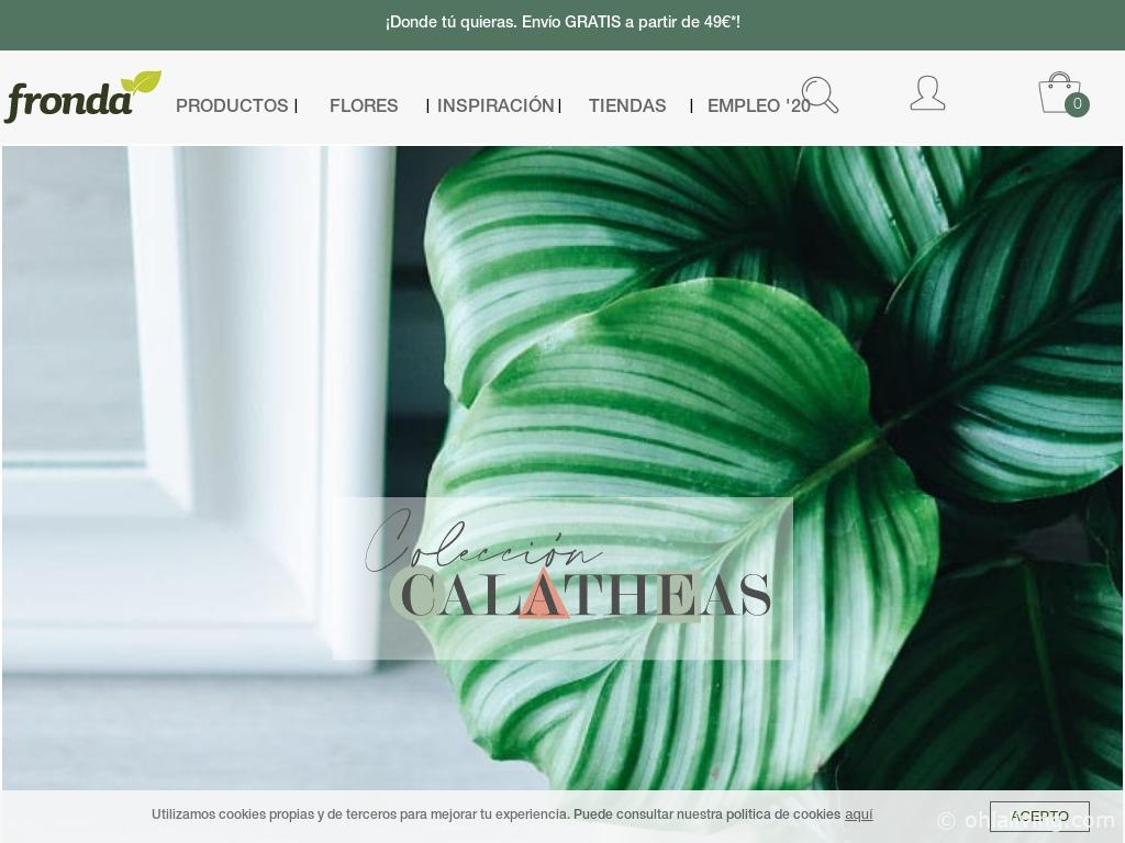 Fronda Website