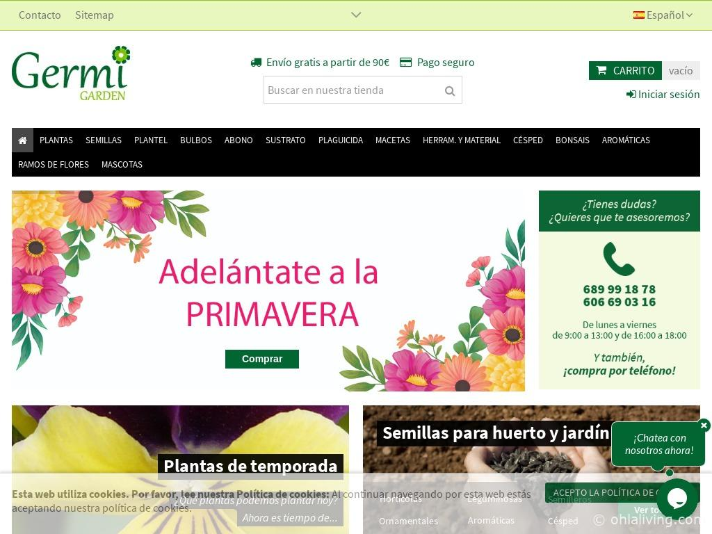 Germi Garden Website
