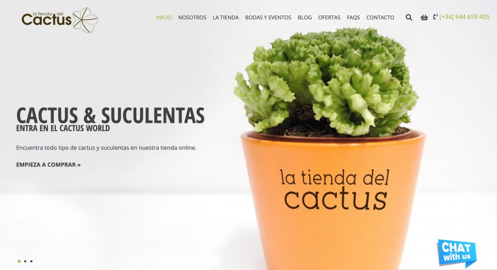 La Tienda Del Cactus Website