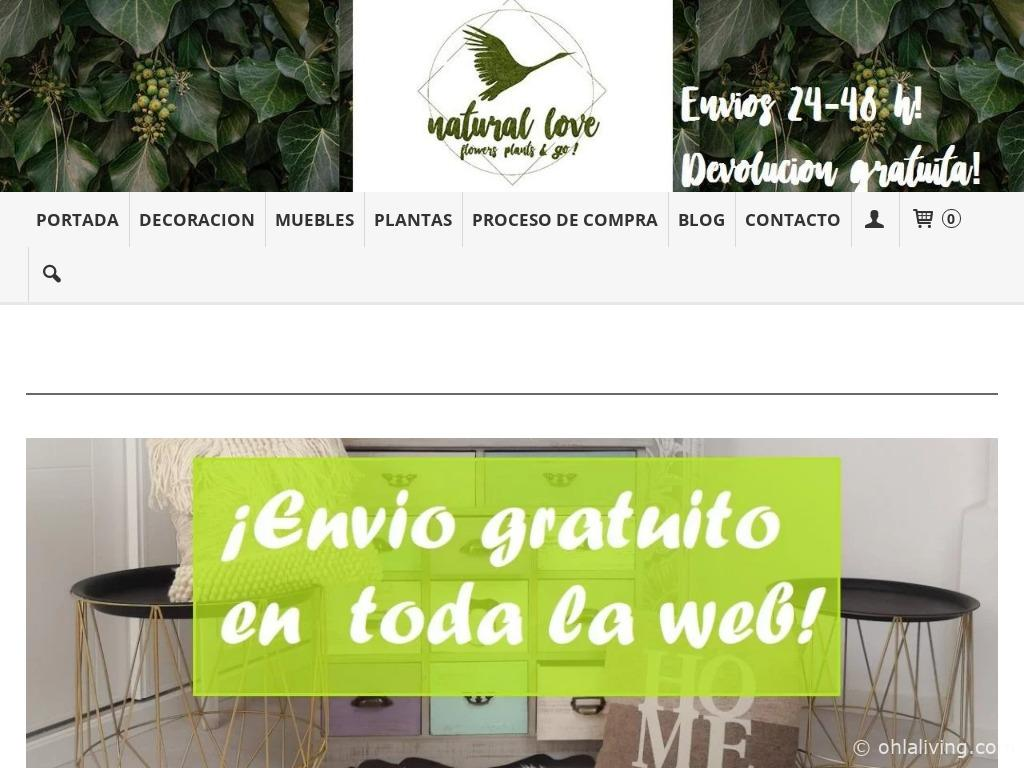 Natura Love Website