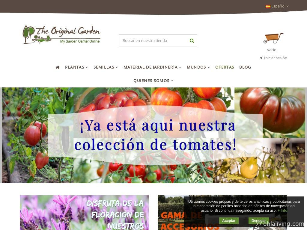 The Original Garden Website