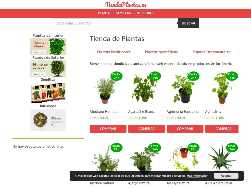 Tiendas Plantas