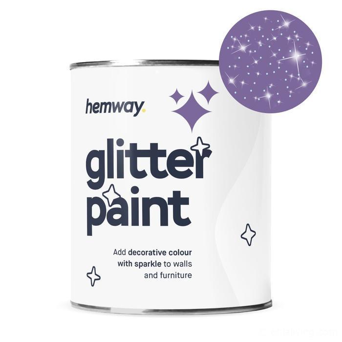 Hemway Silver Glitter Paint