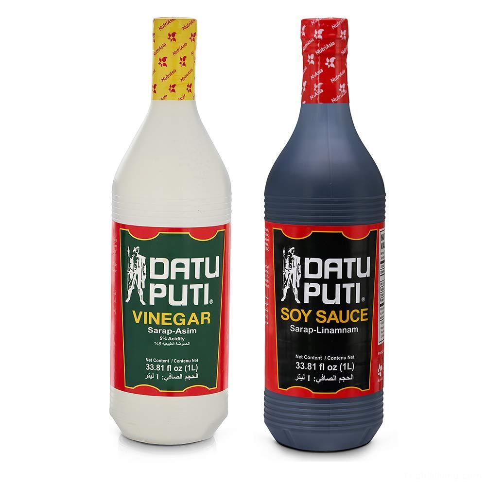 Datu Puti Vinegar and Soy Sauce