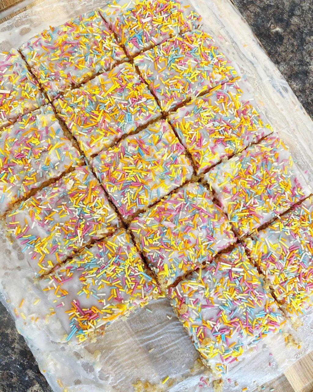 Sprinkle Tray Bake