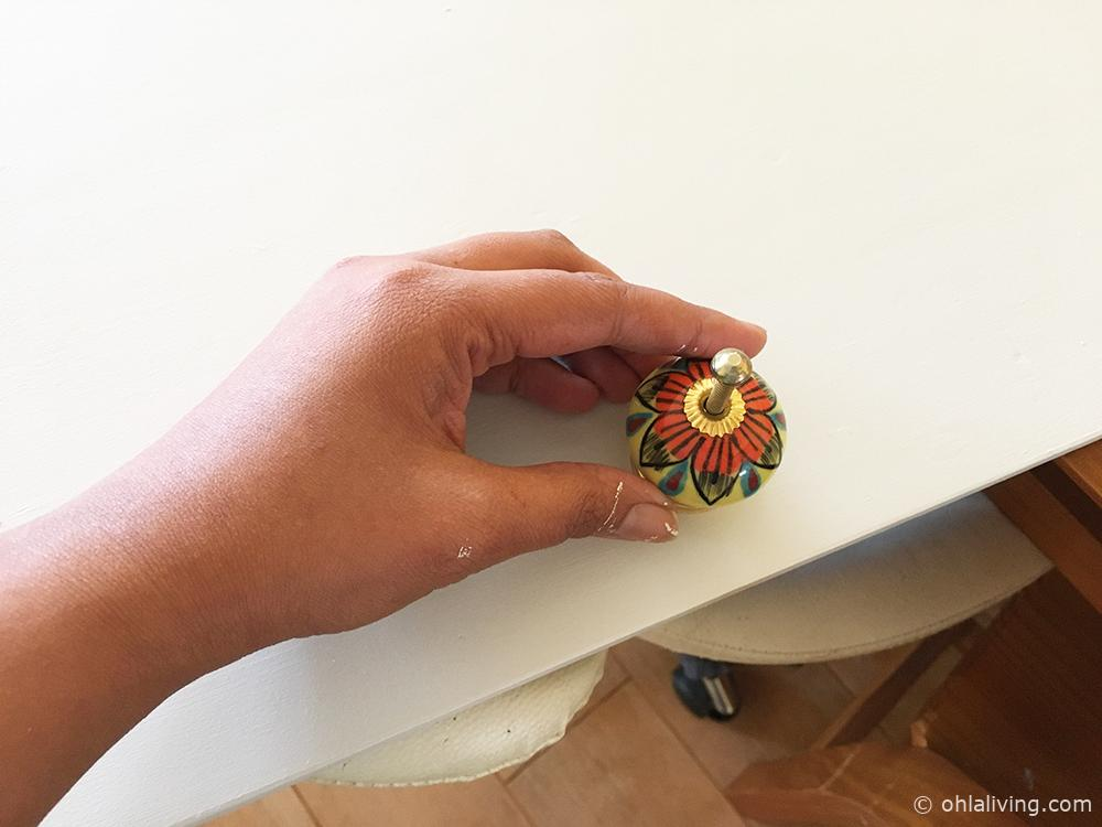 moroccan style drawer handles