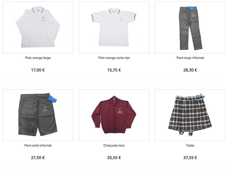 Concertado Schools Uniform