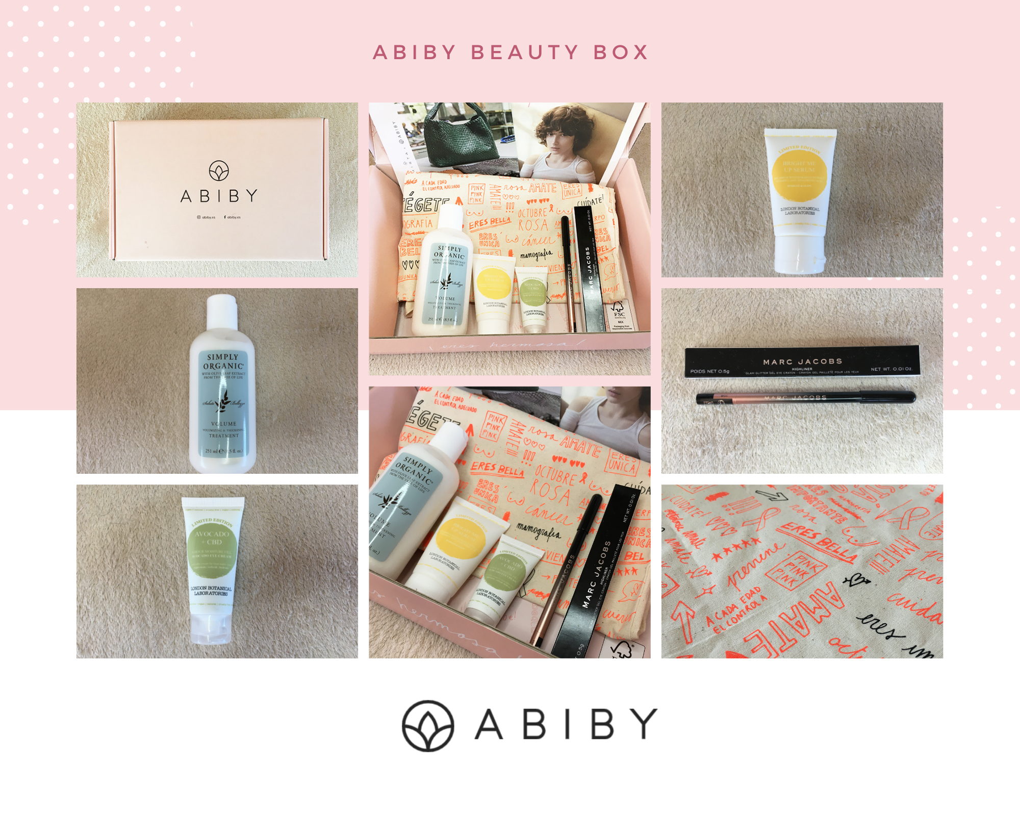 October Beauty Box From Abiby