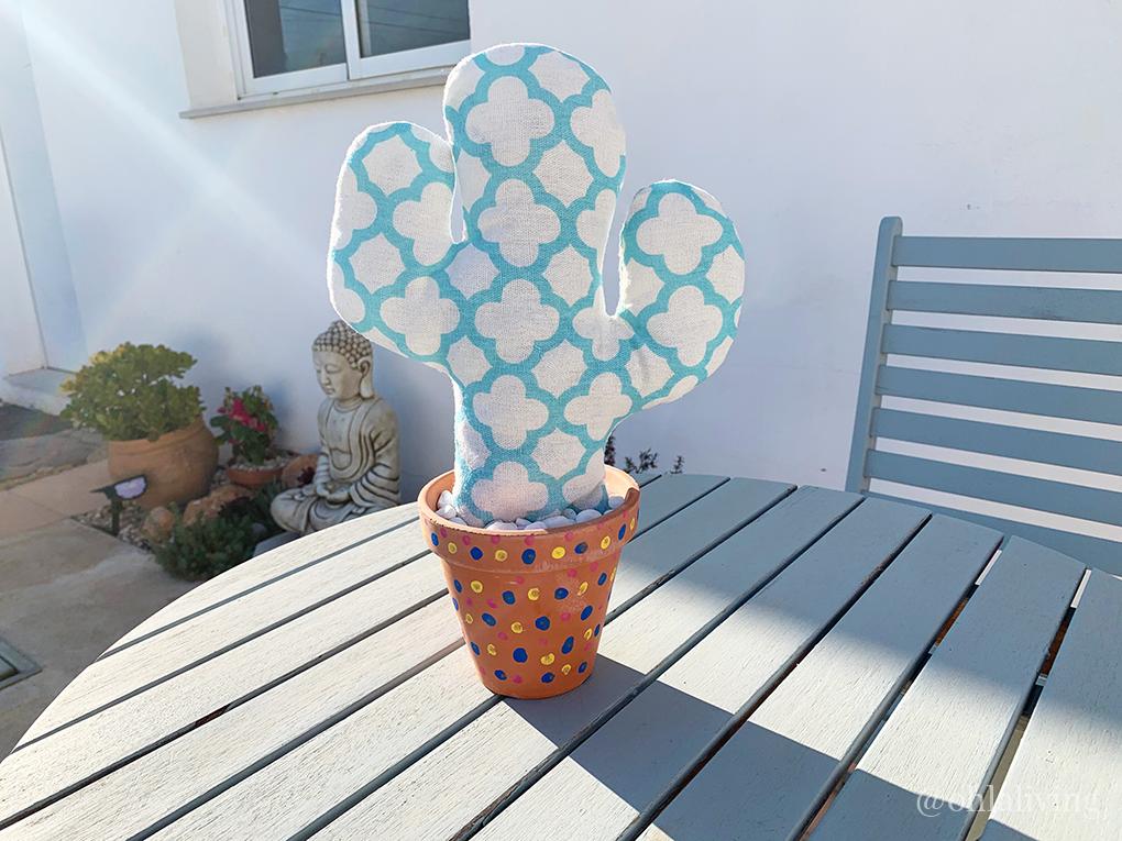 DIY Fabric Cactus