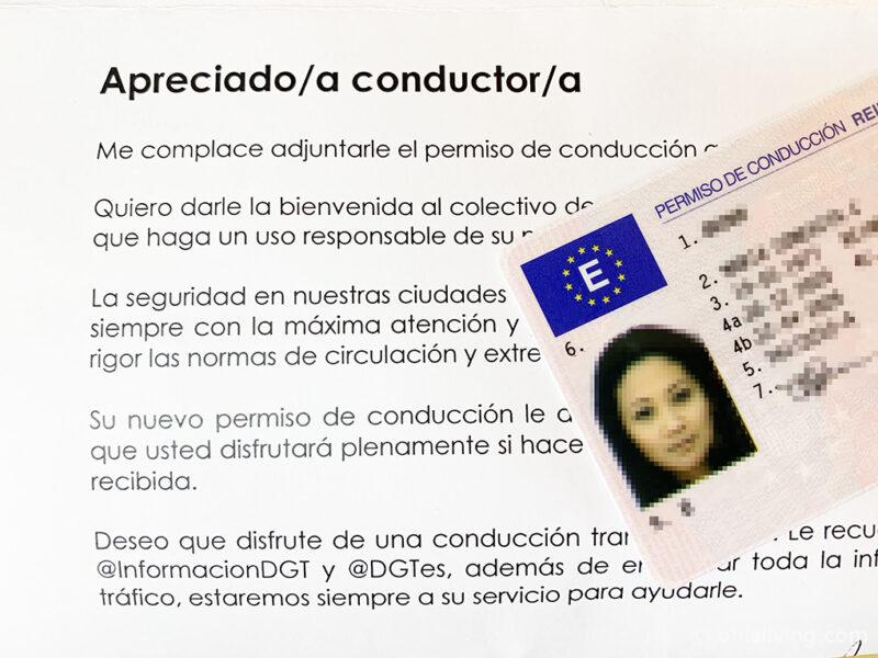 UK Driving Licence To Spanish
