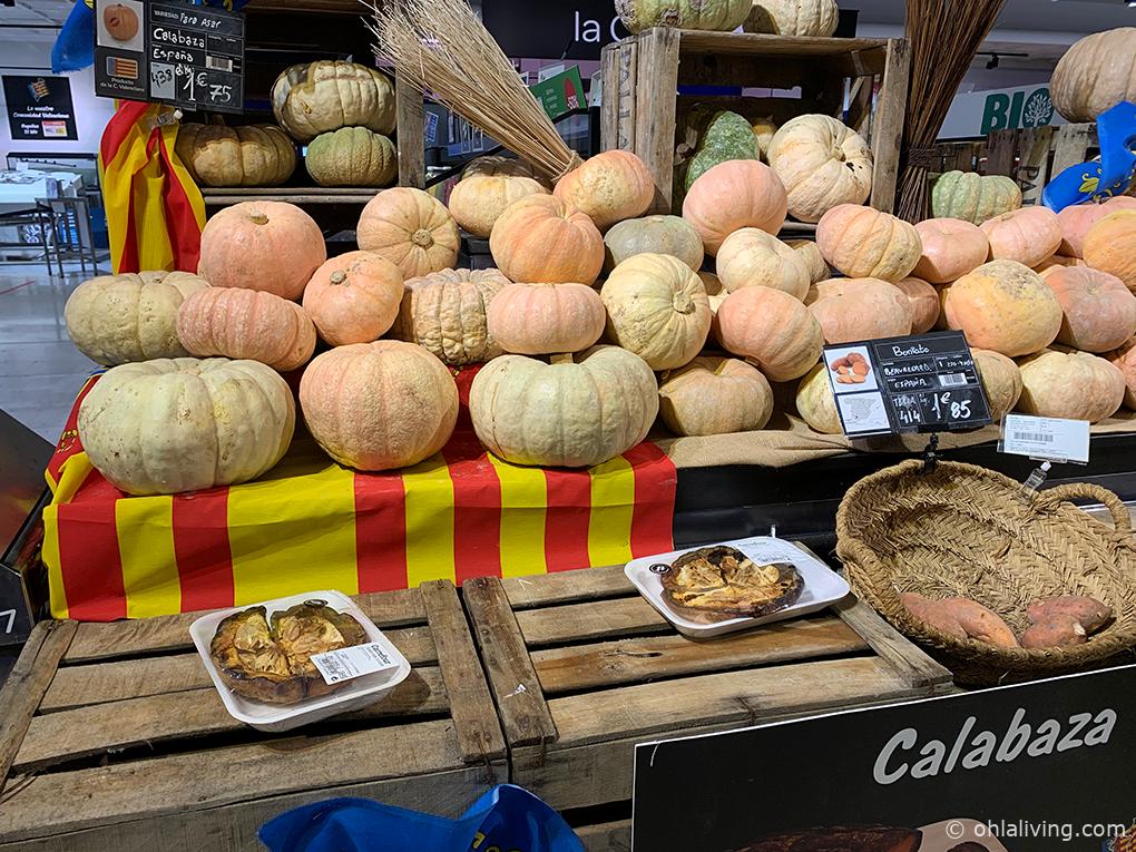 Pumpkins for roasting