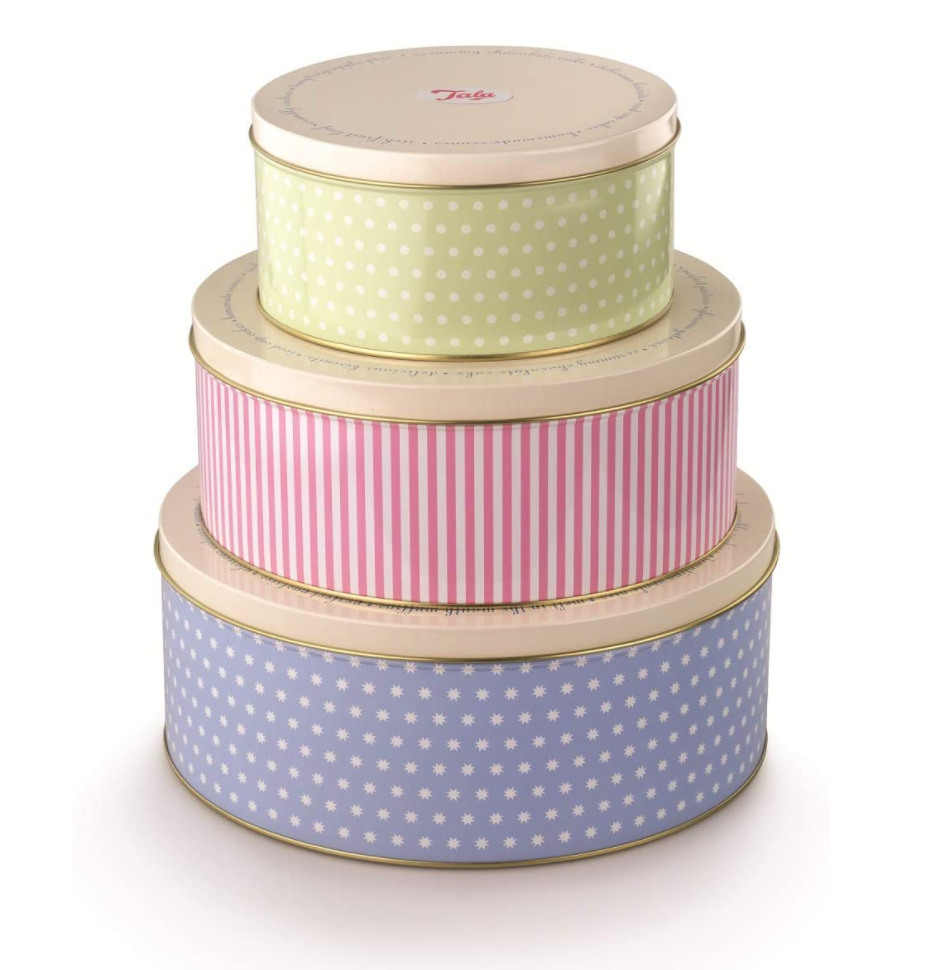 1950 Style Cookie Tins