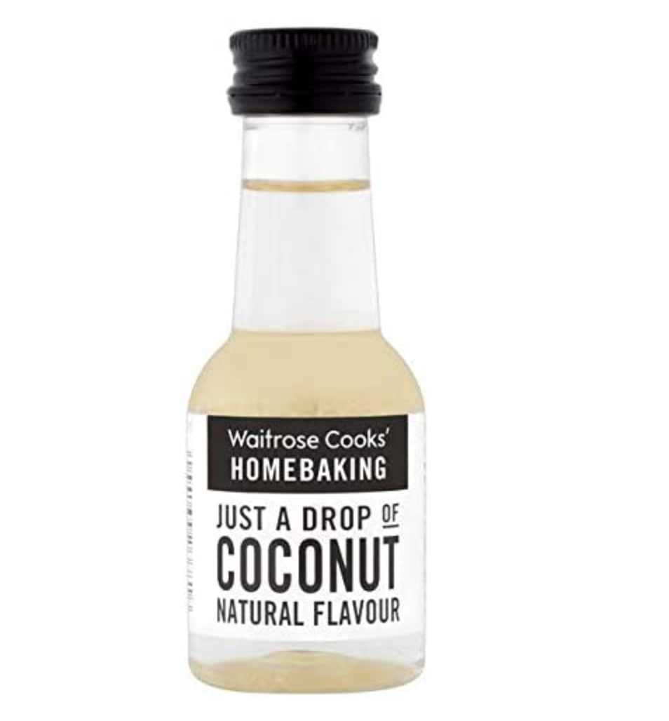 Coconut Flavouring Waitrose